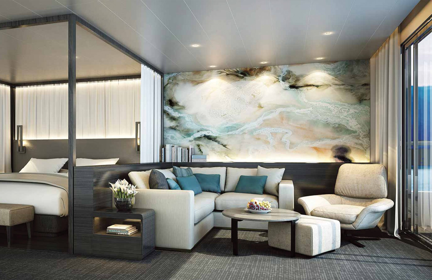 Most Luxurious Cruise Ships in the World _ Scenic Eclipse _ LuxDeco Style Guide