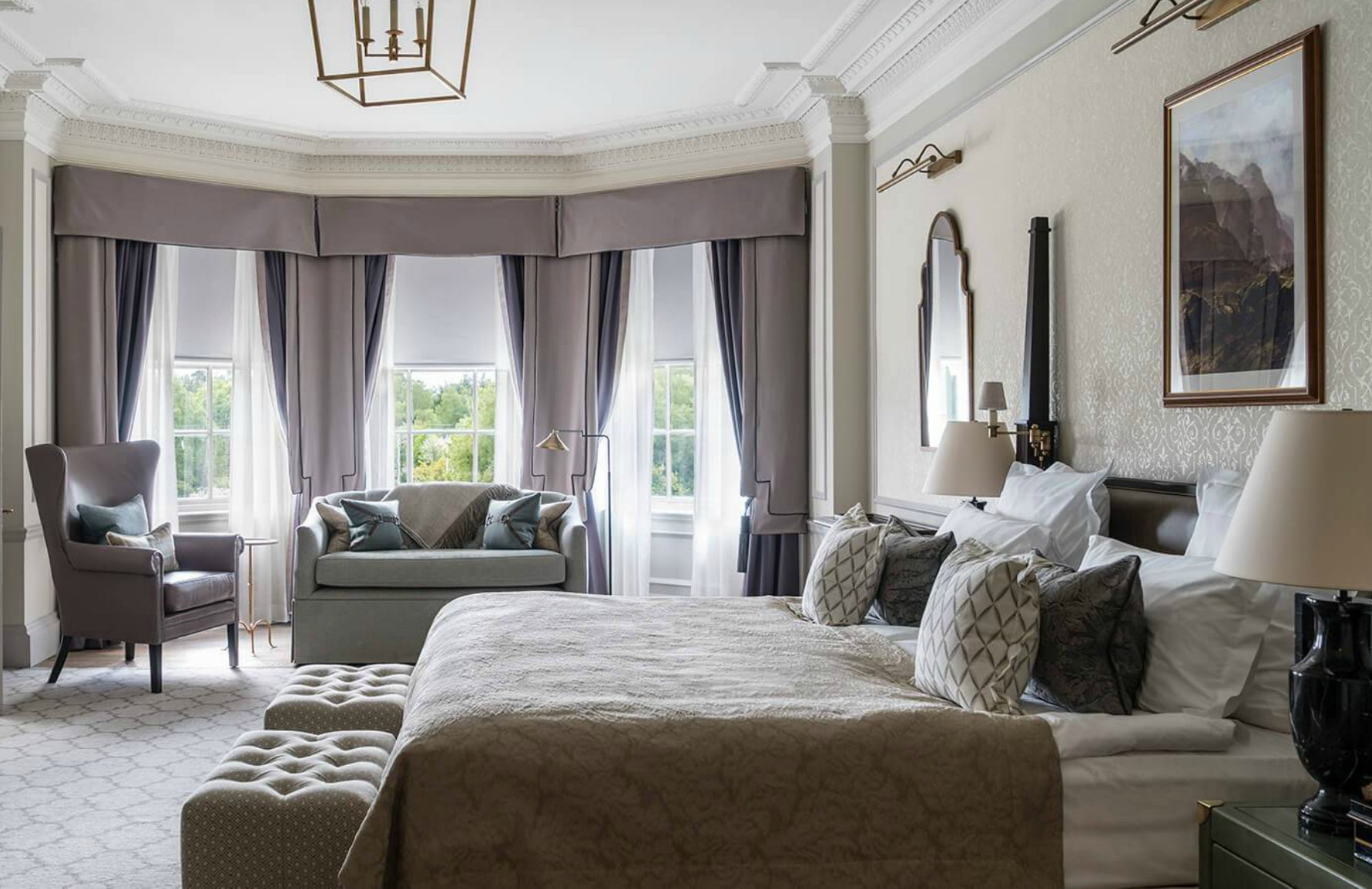 Top Country Hotels for the Bank Holiday Weekend | Gleneagles | LuxDeco.com