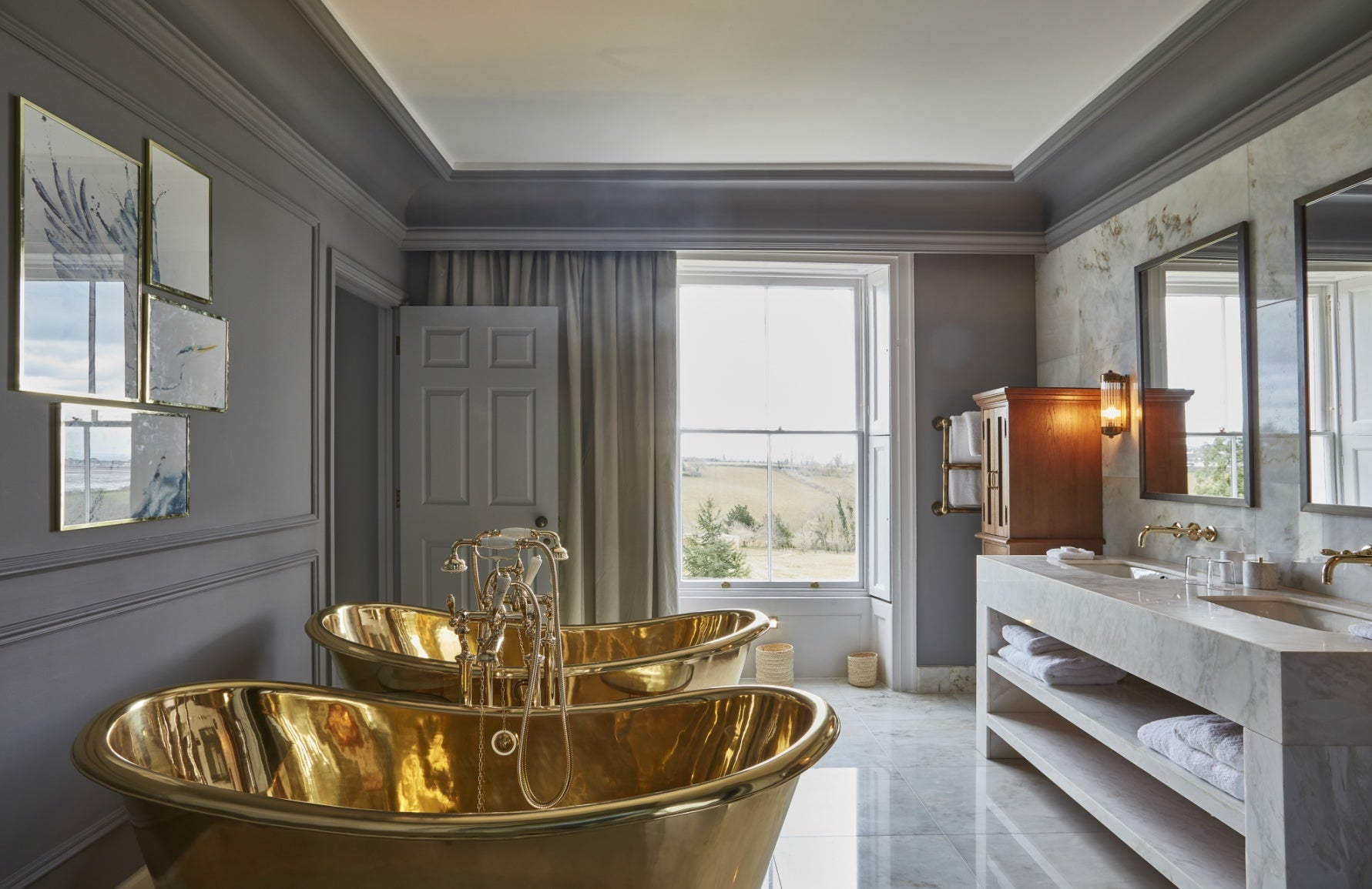 Top Country Hotels for the Bank Holiday Weekend   Lympstone Manor   LuxDeco.com