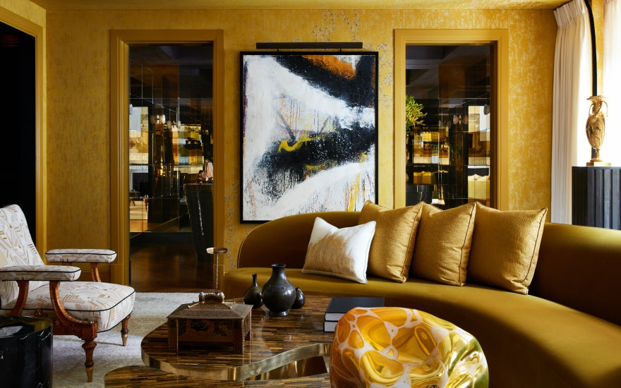 Best Yellow Living Room Ideas | Decorating with Yellow ...