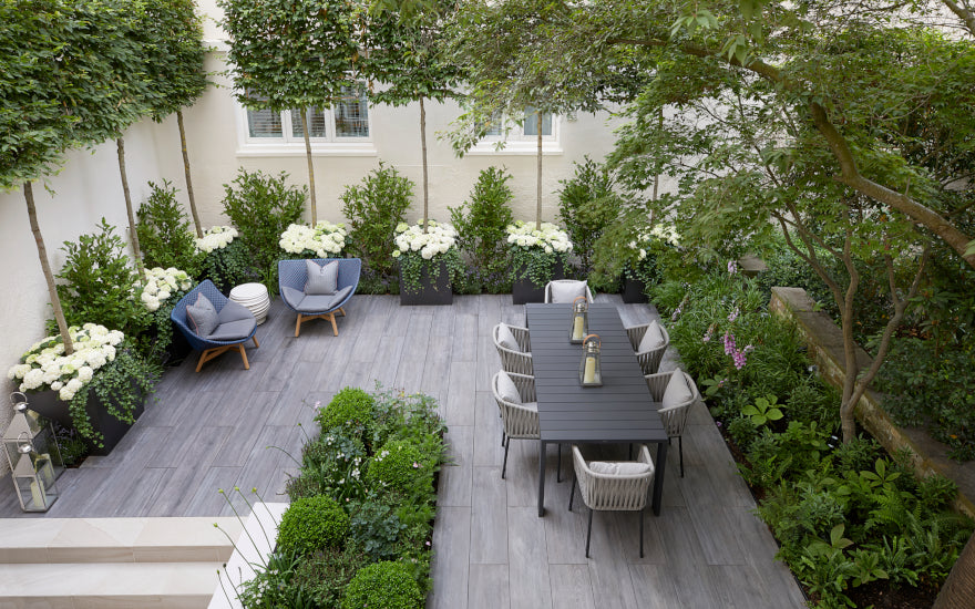 Townhouse City Garden Design Ideas | Types of City Gardens | Finchatton | LuxDeco.com Style Guide