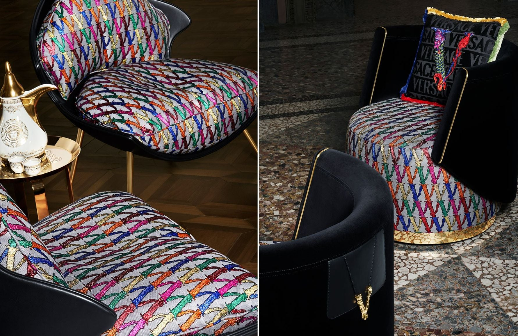 Versace Home Versace Furniture Homeware Story Luxdeco