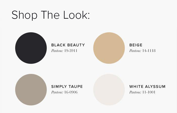 White and Black Bedroom Colour swatches - Bedroom Colour Scheme Ideas & Combinations – LuxDeco Style Guide