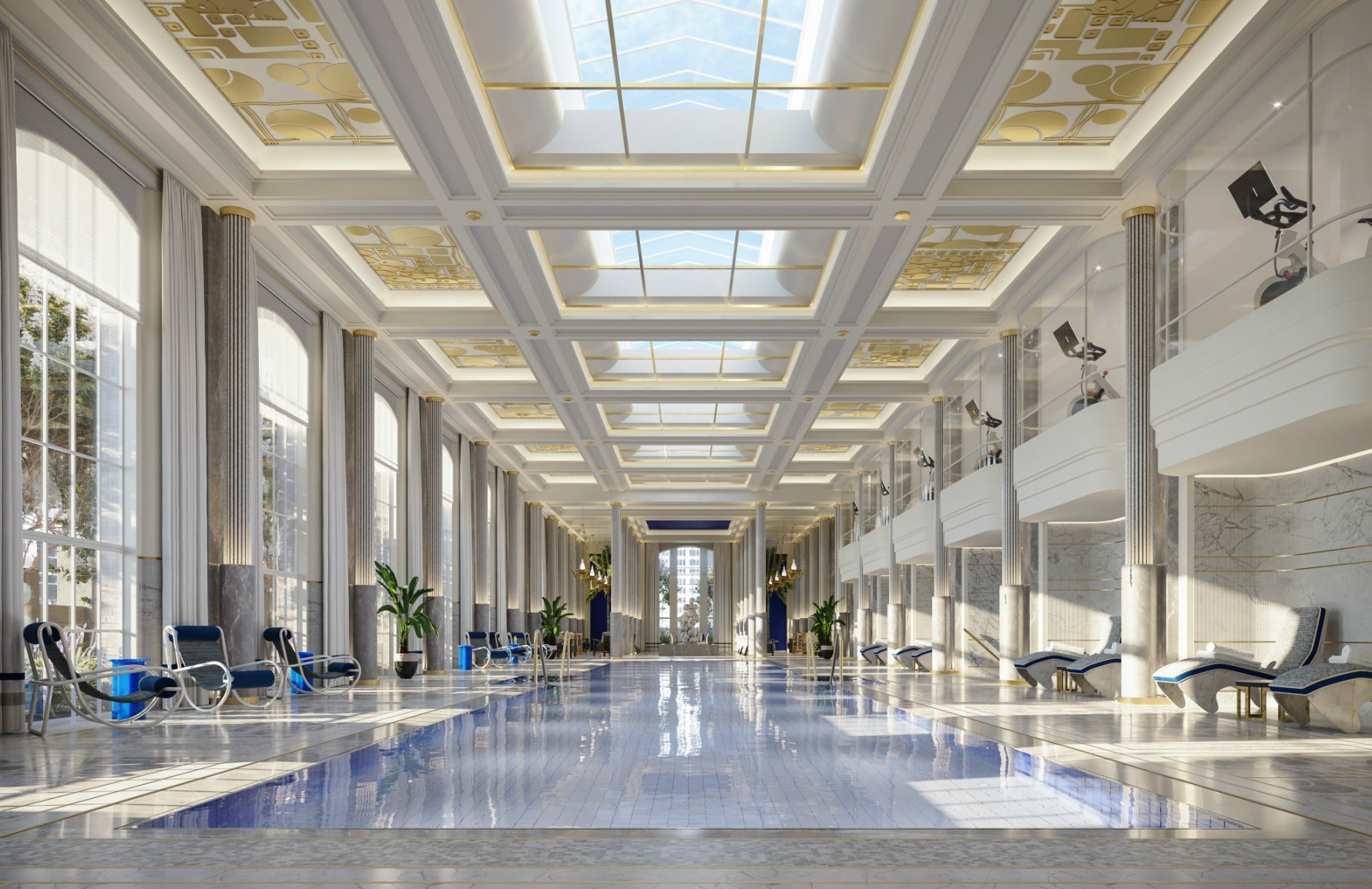 Waldorf Astoria pool | Luxury New York hotels | Read more in The Luxurist