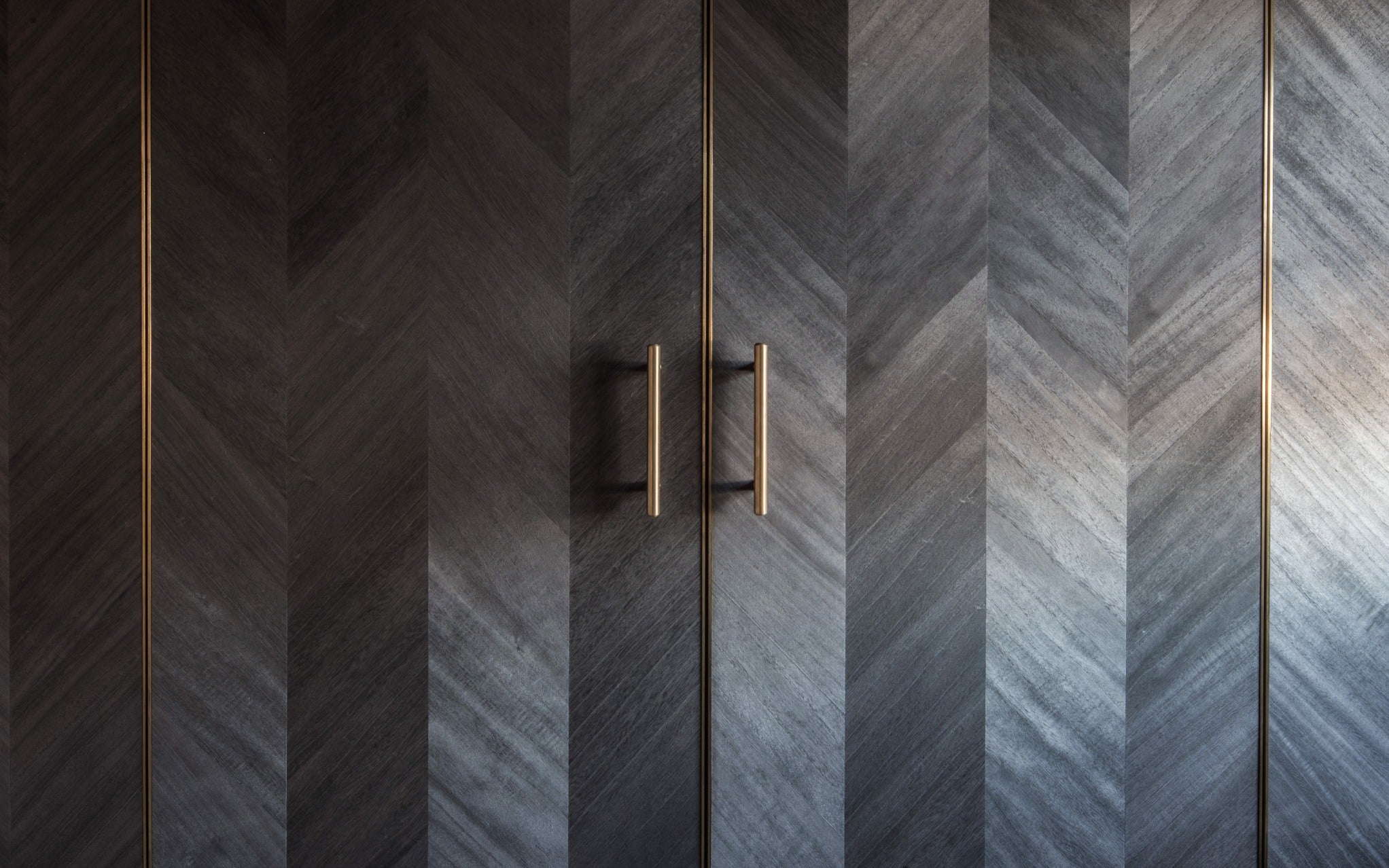 What is a Chevron Pattern in Interior Design? - Difference Between Chevron & Herringbone Patterns - Ribgy & Rigby - LuxDeco.com Style Guide