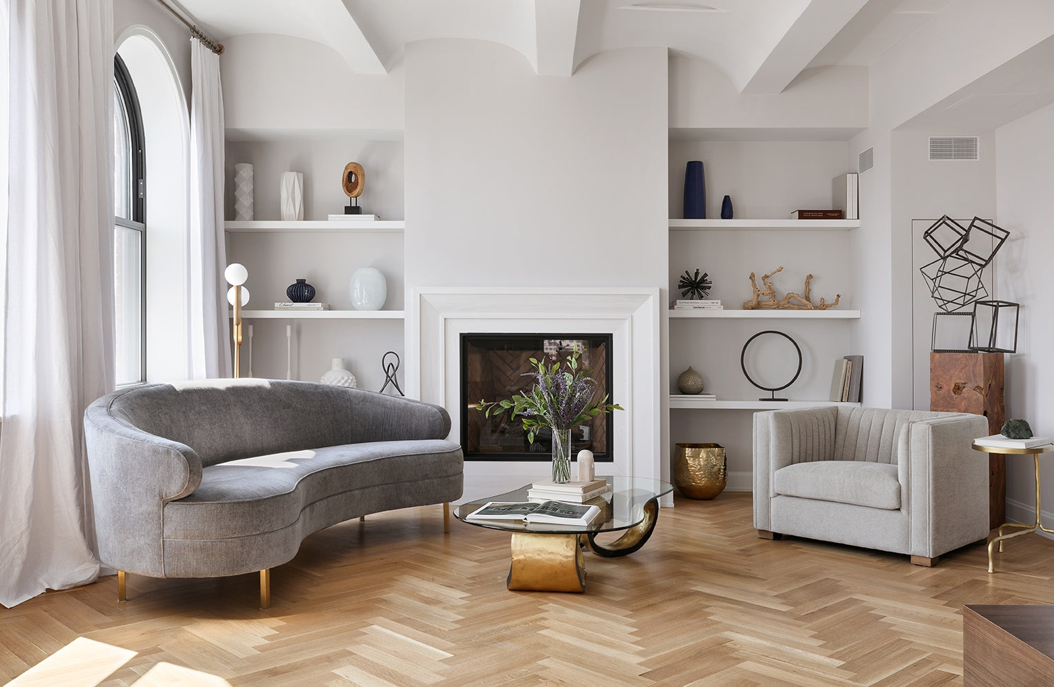 What is a Herringbone Pattern in Interior Design? - Difference Between Chevron & Herringbone Patterns - Interior Marketing Group - LuxDeco.com Style Guide