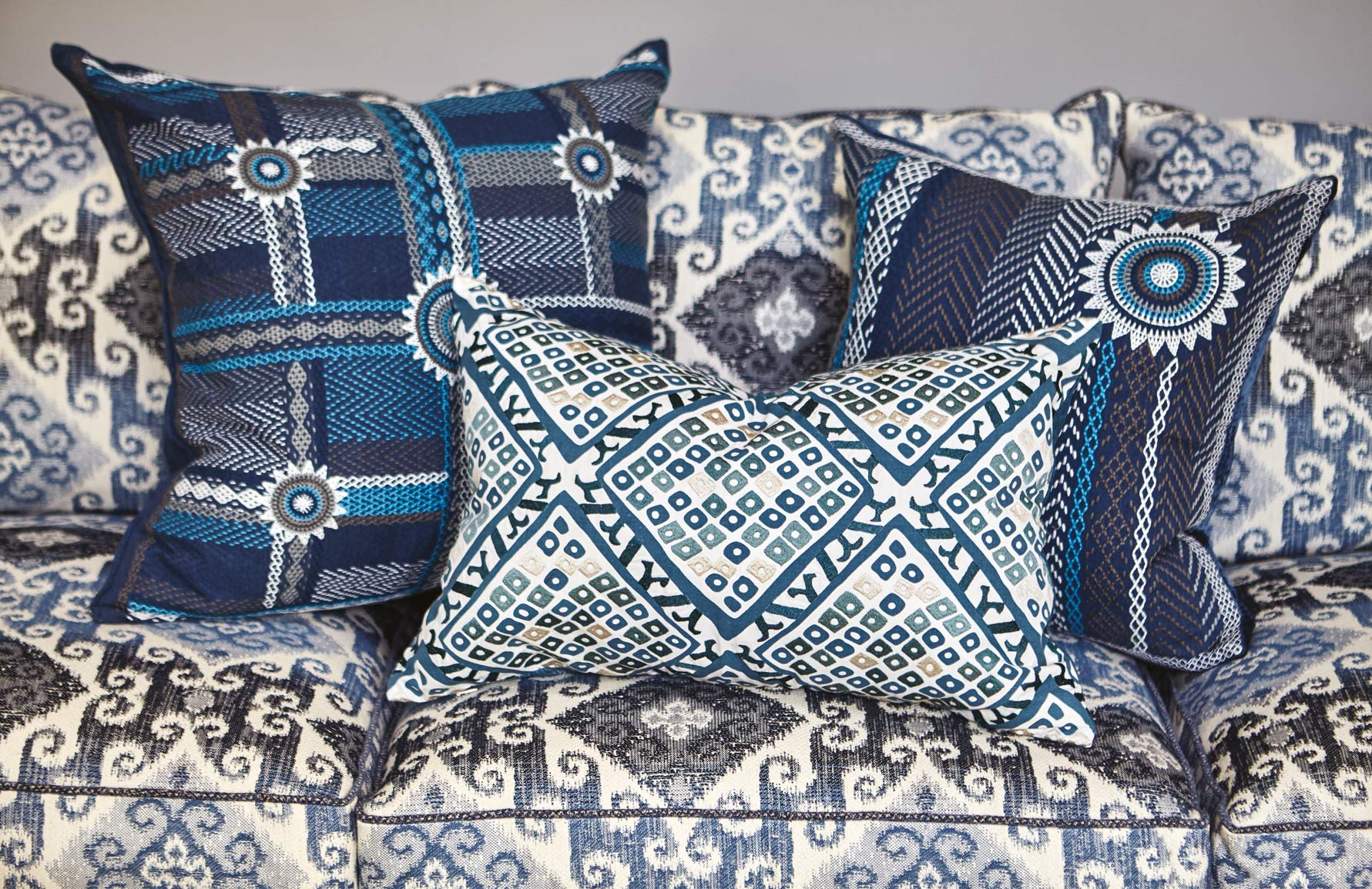 William Yeoward Cushions | Think Big, Shop Small | LuxDeco.com | Keep Creativity Going | Taylor Howes | Shop luxury furniture and accessories on LuxDeco.com
