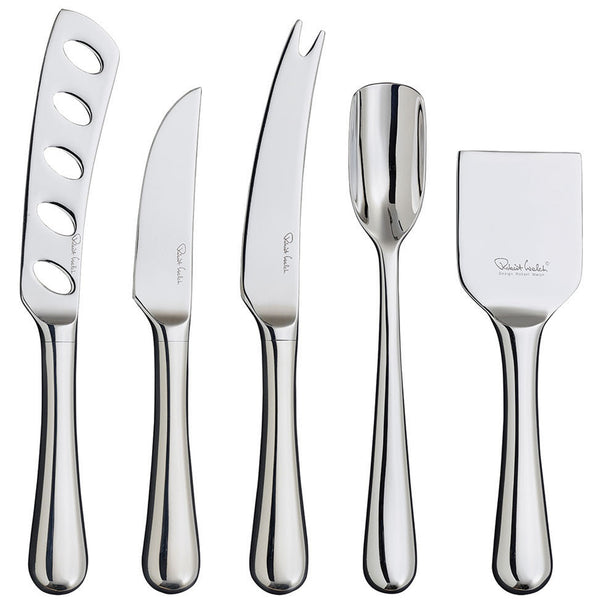 Radford Bright Gourmet Cheese Knife Set Robert Welch Radford Bright Gourmet Cheese Knife Set