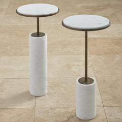 Short Cored Marble Table LuxDeco Short Cored Marble Table