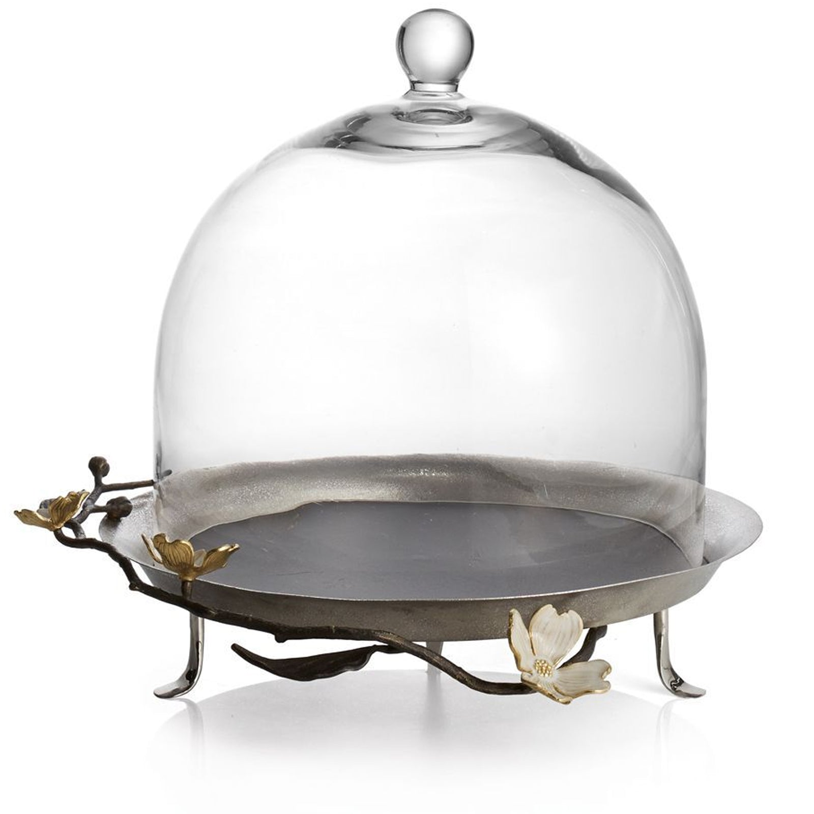 Dogwood Pastry Dome by Michael Aram on LuxDeco.com
