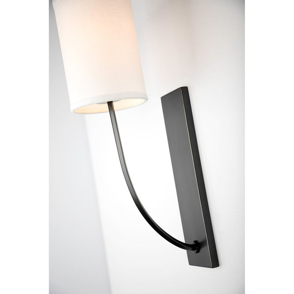 Colton Bronze Wall Light Hudson Valley Lighting Colton Bronze Wall Light