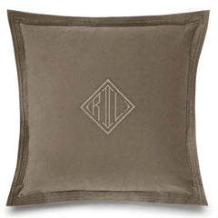 RL Velvet Taupe Cushion Ralph Lauren RL Velvet Taupe Cushion