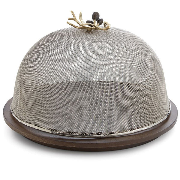 Olive Branch Mesh Serving Dome