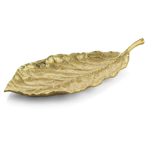 New Leaves Magnolia Medium Platter