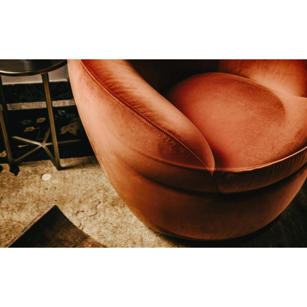 Giulia Swivel Armchair Black Tie Giulia Swivel Armchair