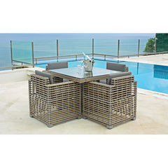 Castries Small Dining Table Skyline Castries Small Dining Table