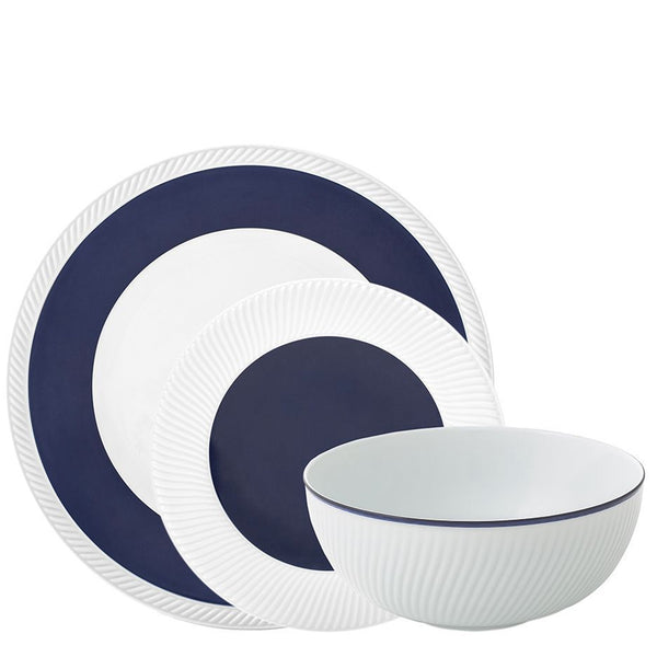 Twist Midnight 3-Piece Dinnerware Set Michael Aram Twist Midnight 3-Piece Dinnerware Set