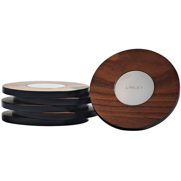 Set Of Magnetic Coasters Linley Set Of Magnetic Coasters