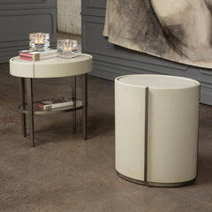 Ellipse Barrel Table LuxDeco Ellipse Barrel Table