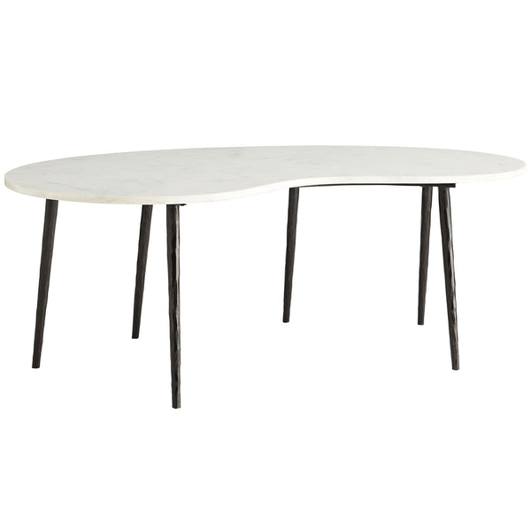 Sloan White Cocktail Table Arteriors Sloan White Cocktail Table
