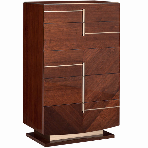 Bellagio 5 Drawer Chest Aria Home Bellagio 5 Drawer Chest