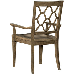 Montebello Carob Brown Arm Chair Hooker Furniture Montebello Carob Brown Arm Chair