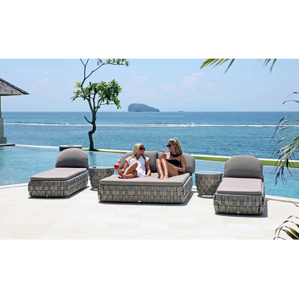 Strips Double Lounger Skyline Strips Double Lounger