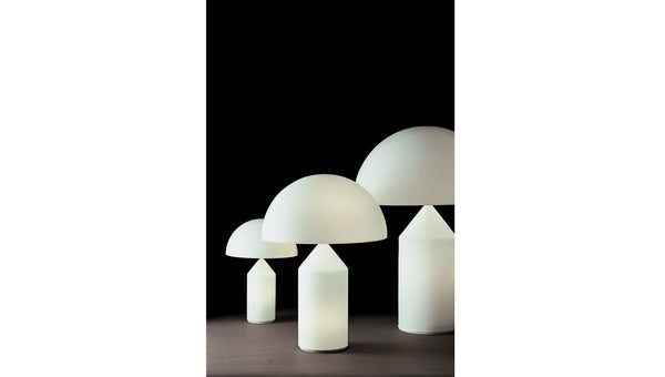 Atollo White Table Lamps Oluce featured