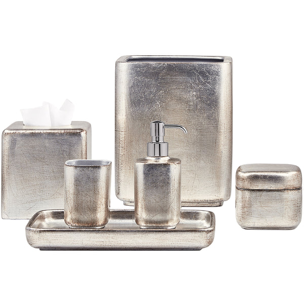 Silver Ava Bathroom Set Labrazel Silver Ava Bathroom Set