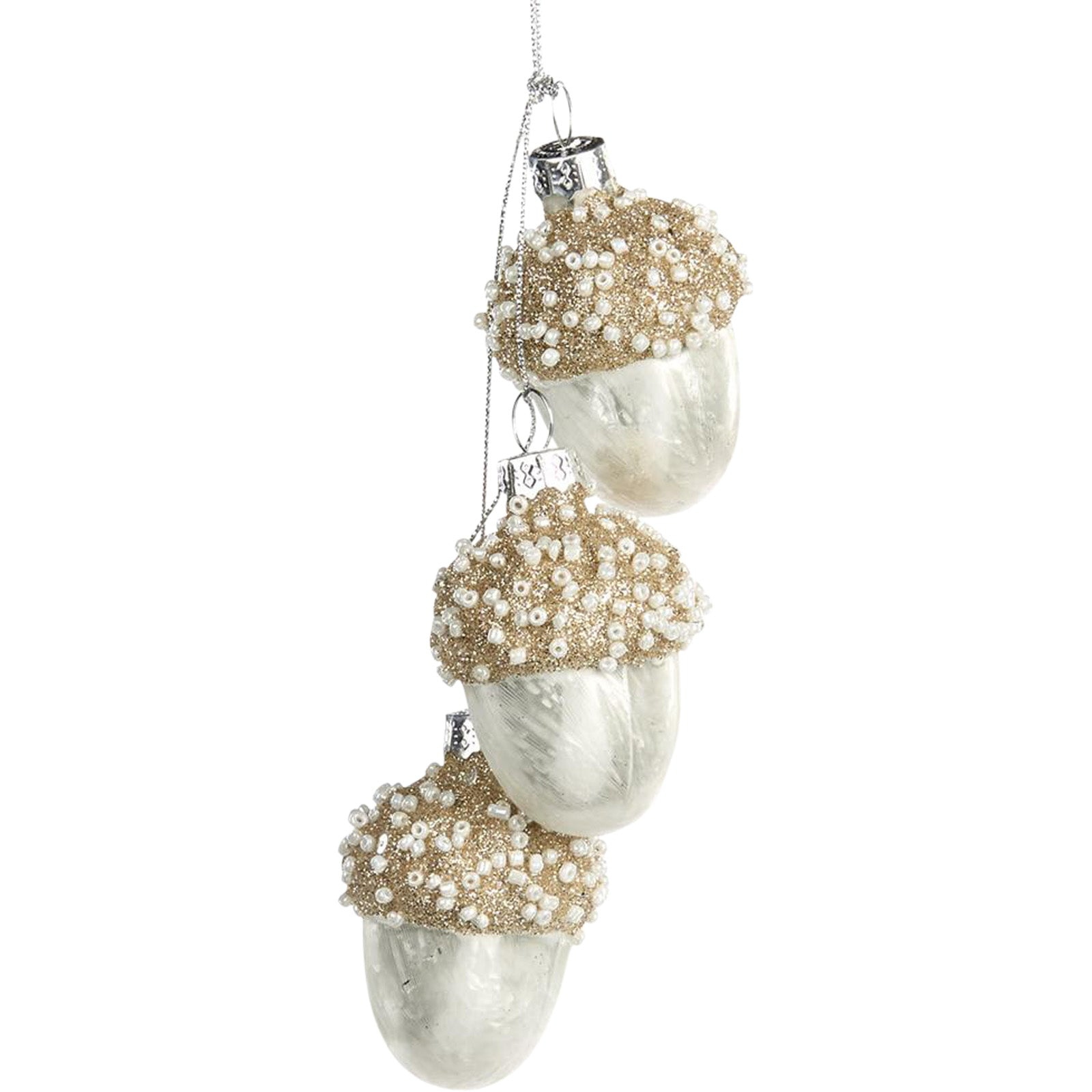 Acorn Cluster Ornament by LuxDeco -Christmas tree decoration - LuxDeco.com