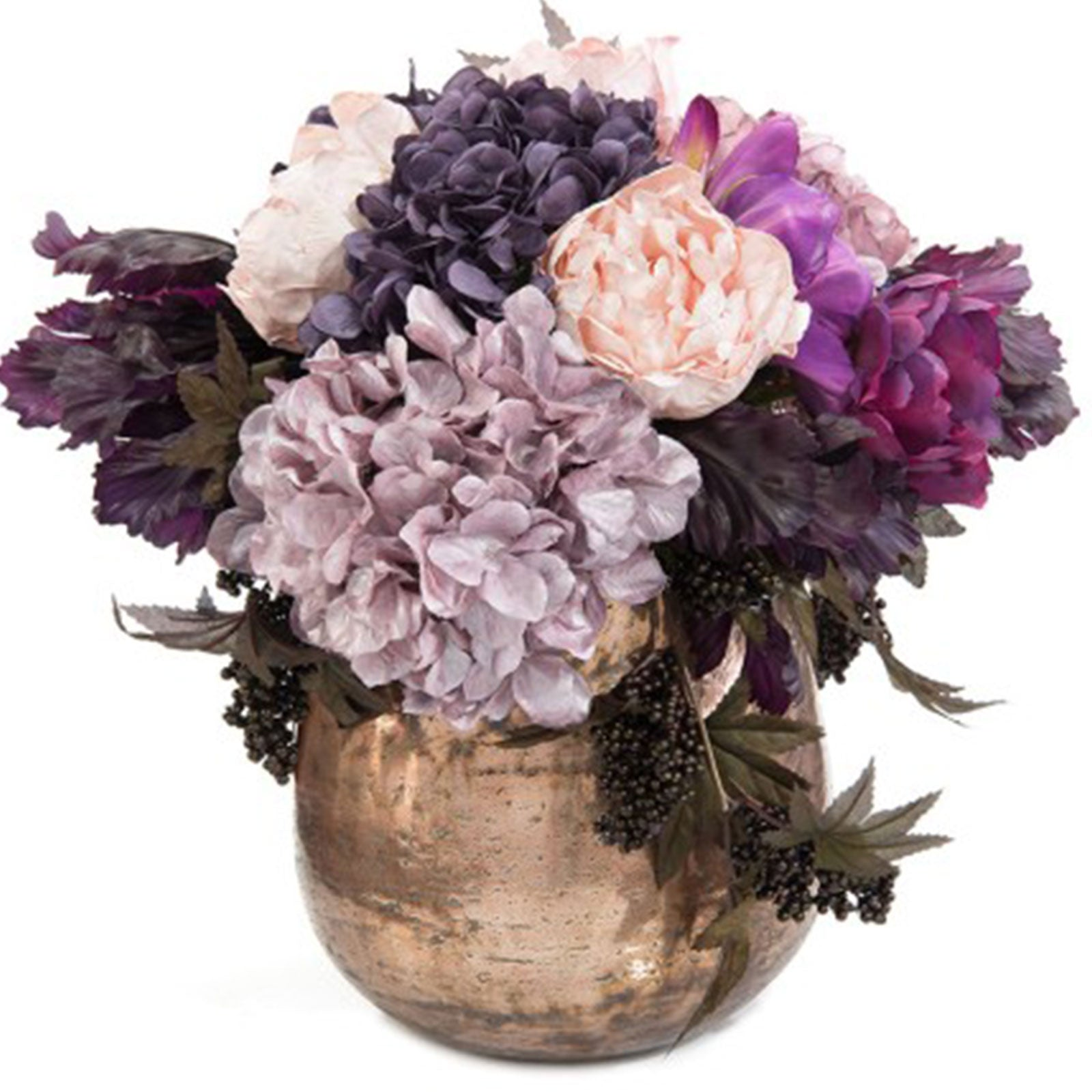 Amethyst & Pearls Floral Arrangement