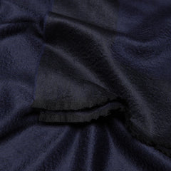 Arran Border Cashmere Throw Navy Begg X Co Arran Border Cashmere Throw Navy