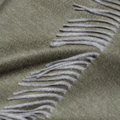 Arran Cashmere Throw Cardamom Begg X Co Arran Cashmere Throw Cardamom