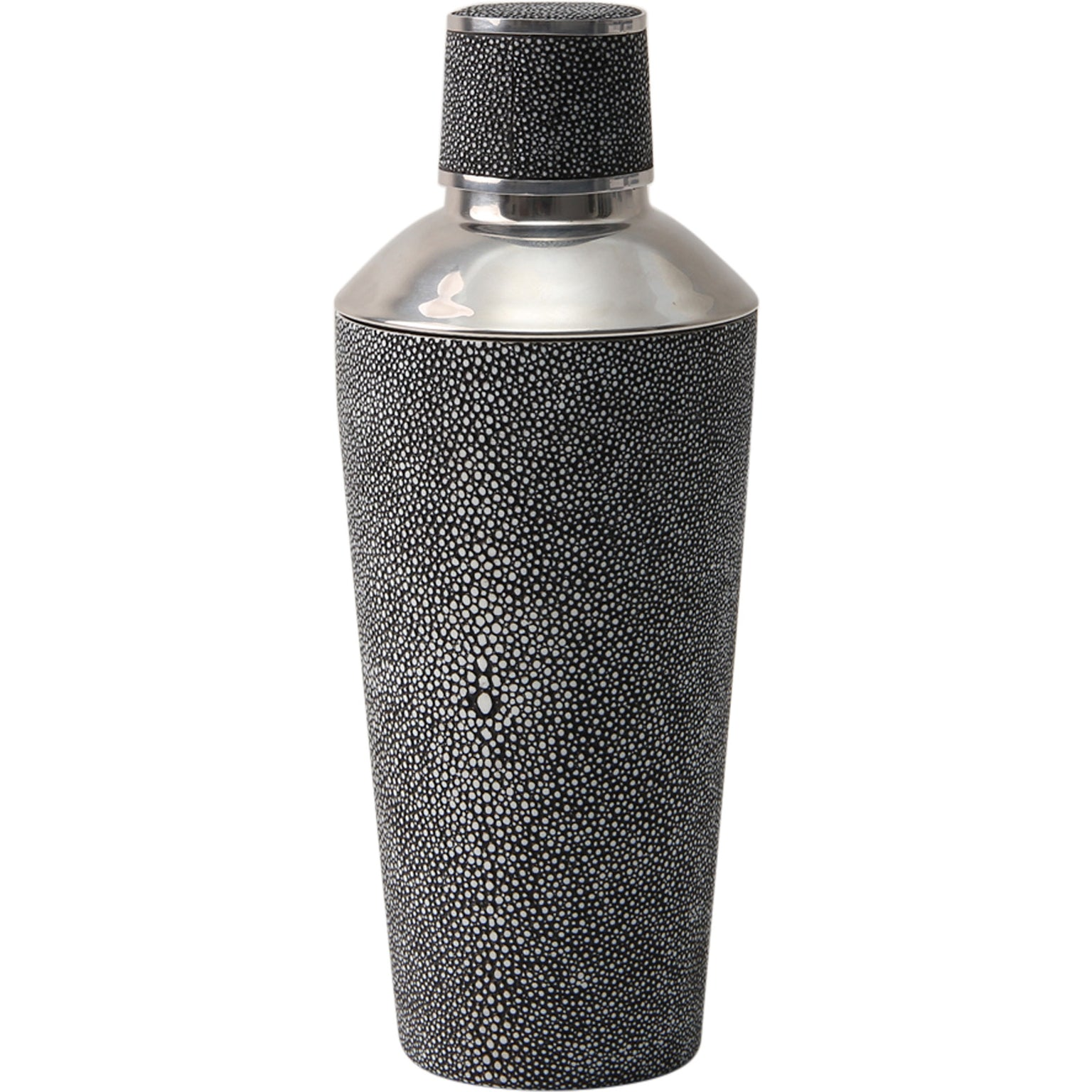 Shagreen Cocktail Shaker Charcoal
