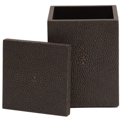 Chelsea Cotton Wool Box Shagreen Chocolate Posh Trading Company Chelsea Cotton Wool Box Shagreen Chocolate