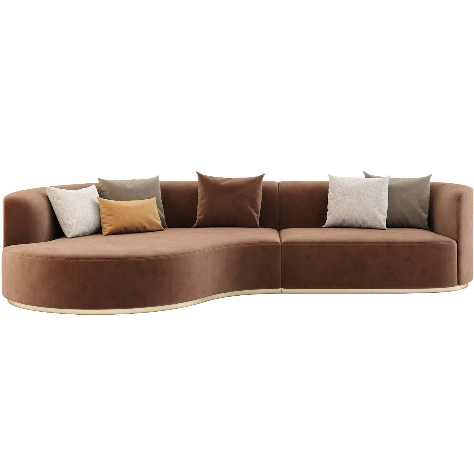 Chloe Curved Sofa