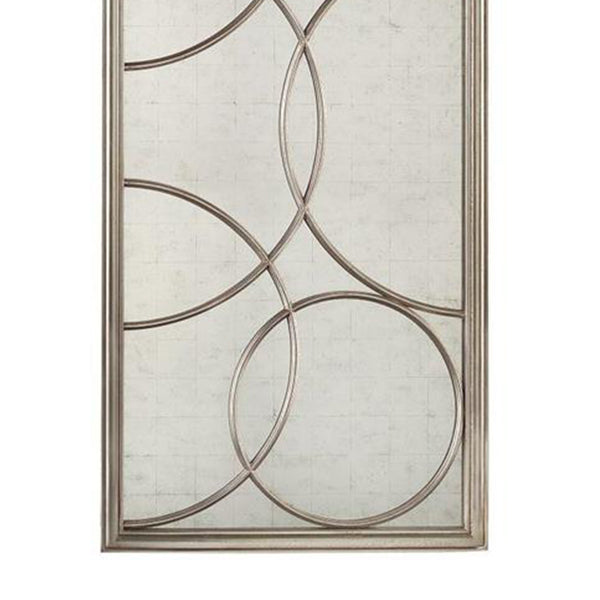Cirella Mirror in Silver John-Richard Cirella Mirror in Silver