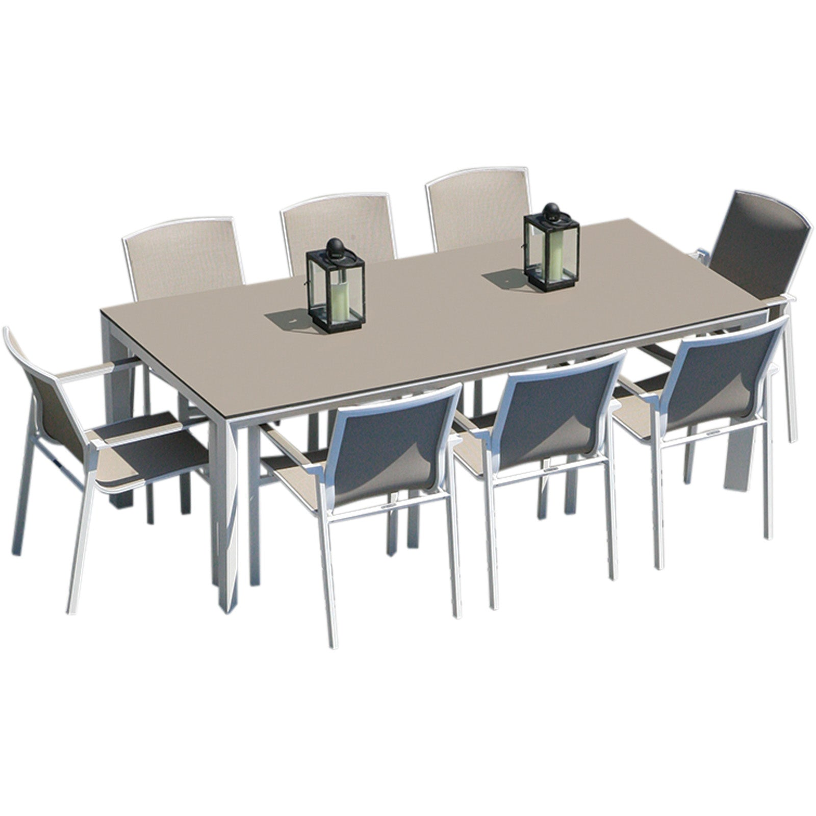 Madison 220 Rectangular Table And 8 Madison Chairs