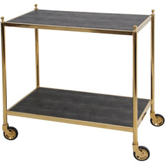 Cliveden Drinks Trolley Brass Forwood Design Cliveden Drinks Trolley Brass