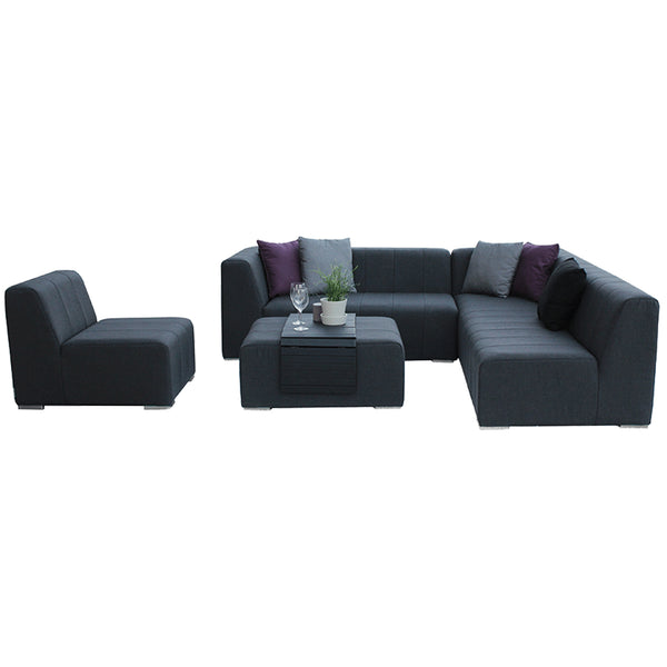 Cube Complete Corner Seating with Ottoman Westminster Cube Complete Corner Seating with Ottoman