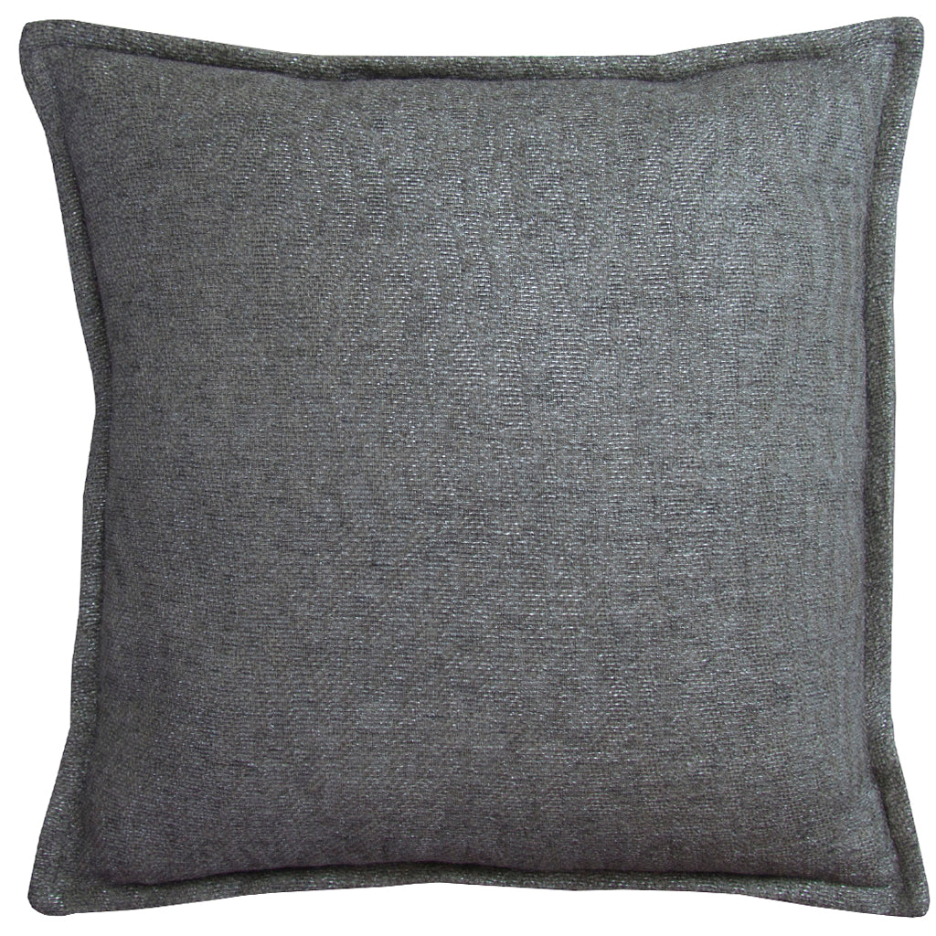 Treasure Cushion With Self Flange - Silver
