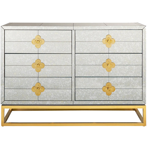 Delphine Six-Drawer Dressing Table