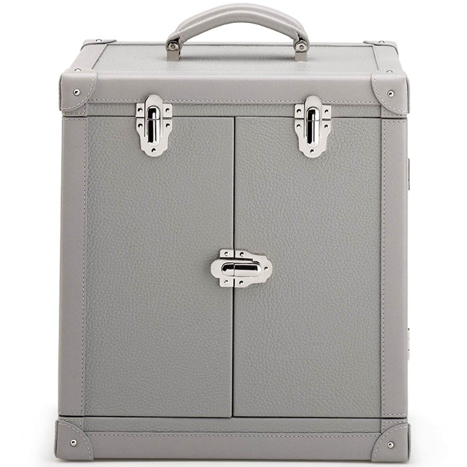 Deluxe Leather Jewellery Trunk