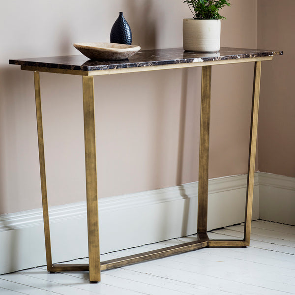 Emmett Console Table Highgate Home Emmett Console Table