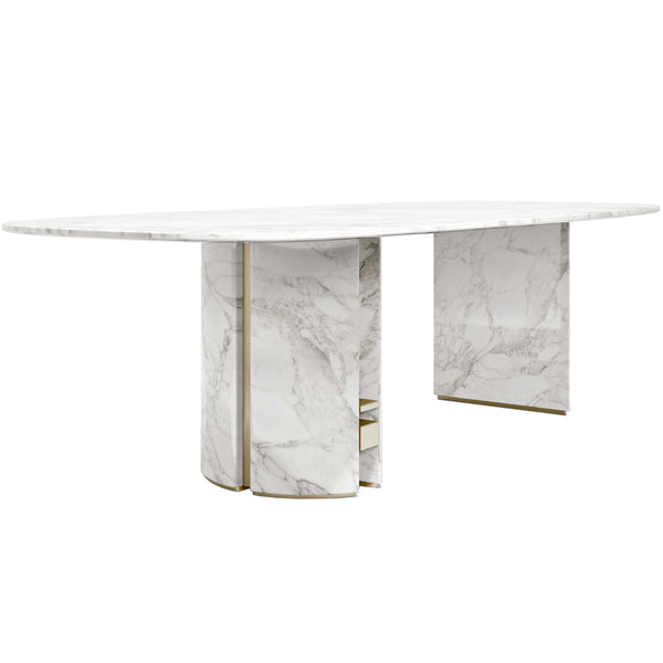 Ercole Oval Dining Table Capital Ercole Oval Dining Table