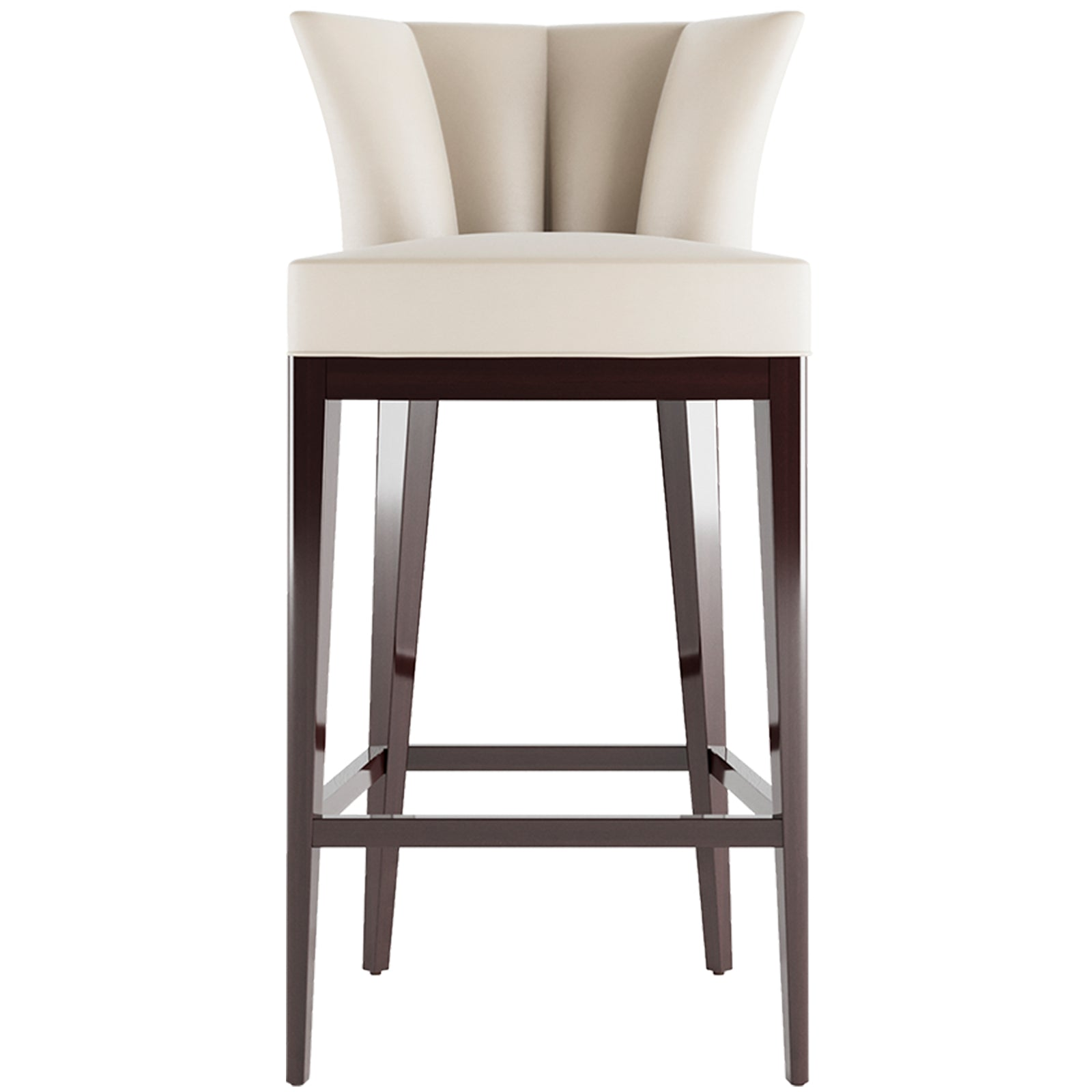 Fan Bar Chair - 9 Best Bar Stools For Your Kitchen Island & Breakfast Bars - LuxDeco.com