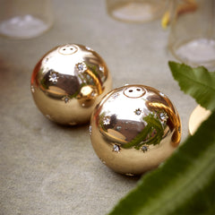 Gold Stars Salt & Pepper Set L'Objet Gold Stars Salt & Pepper Set