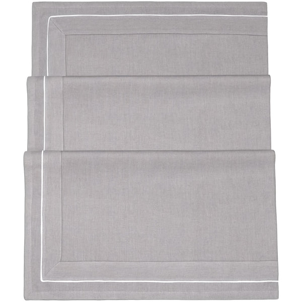 Grey Linen Tablecloth