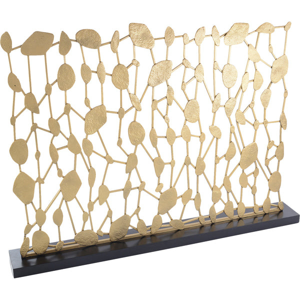 Abstract Sculptural Fire Screen