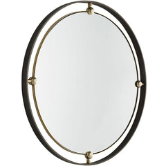 Janey Round Mirror Arteriors Janey Round Mirror